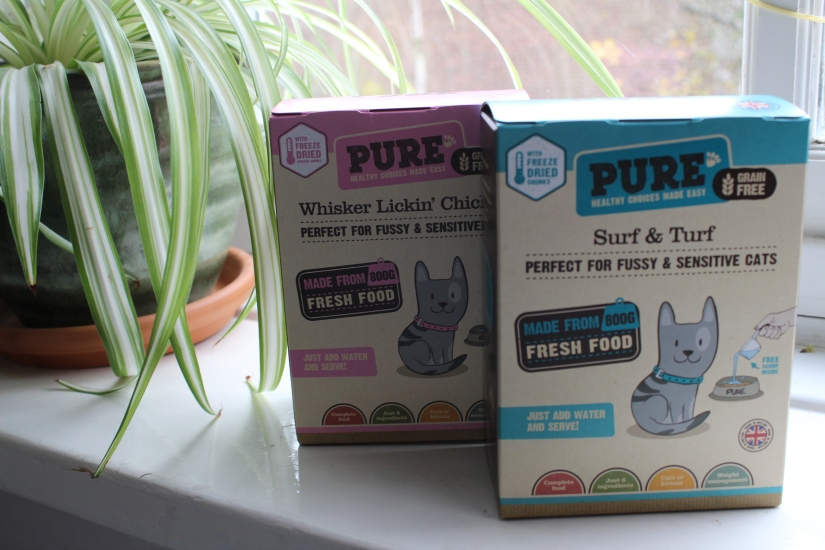 Pure Pet Food for my cat – areview