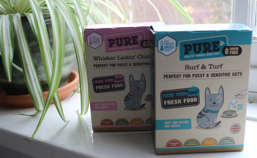 Pure Pet Food for my cat – a review
