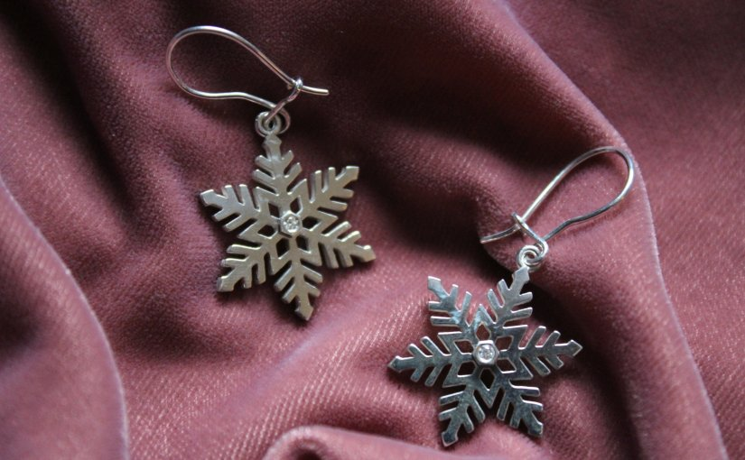 Snowflake Earrings: a review of ethical fine jewellery from Ingle &Rhode